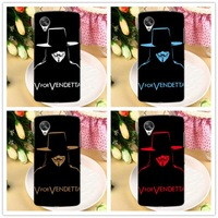 V For Vendetta Matte Nexus 5 Case, High Grade Hard Back Cover Case for LG Google Nexus 5