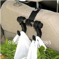 Car Vehicle Auto Visor Accessories bag Organizer Holder Hook Hanger 20pcs/lot Free Shipping