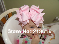 1PCS Free shipping Big Bow headband for Newborn Infant Toddler girls Baby Hair Accessory Kids Headpiece AK1