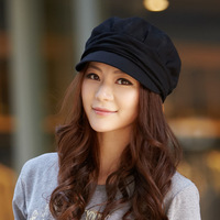 Hat female winter women's autumn and winter cap beret winter fashion octagonal cap bucket hat