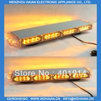Free freight 21 inch=53cm long mini led lightbar with white aluminum cigarette plug magnet feet