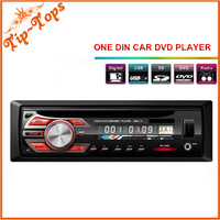 Hot Sale Universal Fix Panel One Din Car DVD Player Single Din  CD Player Car stereo with FM Transmitter Free Shipping