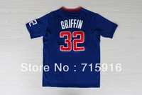 13/14 Season Christmas Edition #32 GRIFFIN embroidered blue jersey
