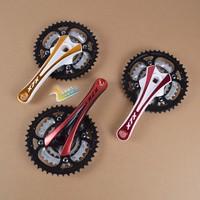 Xlx9 27 crankset 44t crankset two-color anode multicolour quality 27 mountain bike crankset