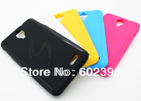 High Quality Soft Plastic TPU Gel Skin Protector Case Cover For Alcatel One Touch Idol 6030 6030D OT6030 10pcs/lot