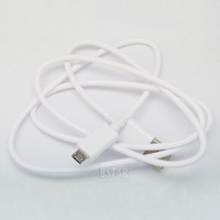 White color Micro USB Cable 2.0 Data sync Charger cable For Samsung galaxy i9300 S3 S4 HTC XC1042