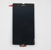 Original and new black Full LCD Display+Touch Screen Digitizer For Sony Xperia Z LT36 L36H LT36 C6603 C6602 ,free shipping