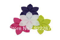Flower shape food grade silicone Pot/Table/Insulation Mat Bowl mat pastoral style 10pcs/lot free shipping