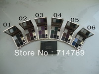 free shipping new makeup 6 colors eye shadow eyeshadow 18g with brush(6PCS/LOT) 6 colors choose