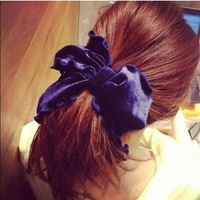 Min.order $15 (mix order) 2014 Fashion bowknot headbands for women,Velvet hair bows jewelry,Perfect hairwears,T002 Free shipping