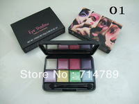 free shipping new makeup 8 colors eye shadow eyeshadow 24g with brush(6PCS/LOT)6 colors choose
