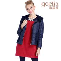 Goelia 2013 winter new arrival patchwork outerwear comfortable women's wadded jacket 13ce7b040