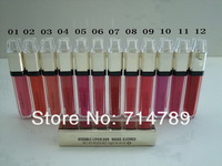 NEW LIP GLOSS KISSABLE LIPCOLOUR lipgloss lip gloss 10g free shipping(100pcs/lot) 12 colors choose