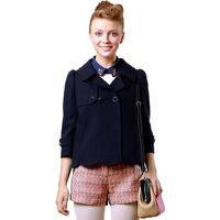 Goelia 2013 women's cloak woolen outerwear short design all-match woolen overcoat 139k6ed30