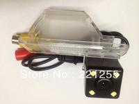 Car Parking Rear View Camera For Nissan Qashqai  / Nissan X-Trail  hd ccd+led car Waterproof camera Free shipping