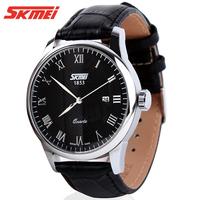Hot Sell SKMEI 30M Waterproof Military Watch,Sports Watch For Men Brand Strap Leather Wristwatch,100% New Watch