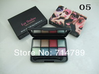 free shipping new makeup 8 colors eye shadow eyeshadow 24g with brush(24PCS/LOT)6 colors choose