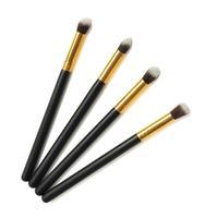 New Sale 4pcs Eye brushes set eyeshadow Blending Pencil brush Makeup tool Cosmetic Free shipping