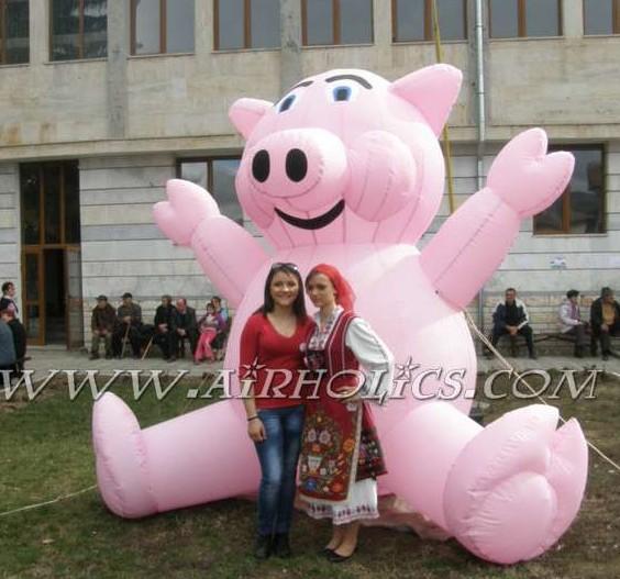 Inflatable Airblown Balloon Pig H3100(China (Mainland))