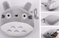 30PCS JAPAN TOTORO Plush Mini HAND Coin Purse Wallet BAG Pouch , BAG Pendant BAG Pouch ; coin wallet purse case pendant bag