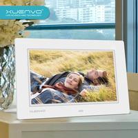 Free shipping 10.1 digital photo frame electronic photo album led widescreen 1024 600 hd resolution  ram capacity