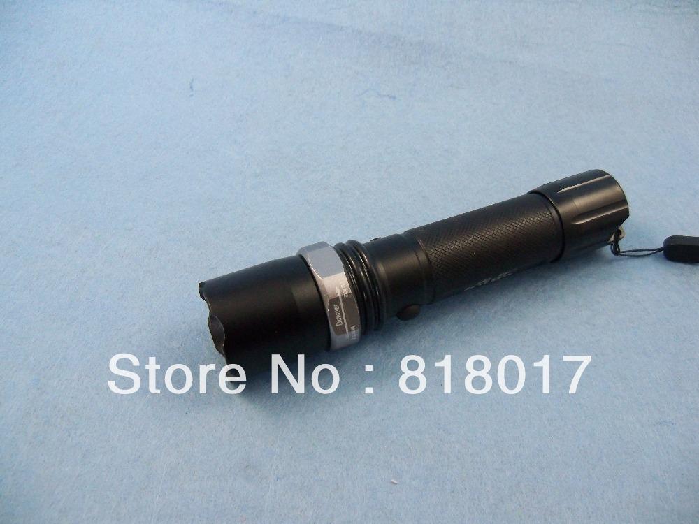 2X Q5 XML 350LM Light rechargeable flashlight