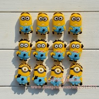 New arrival!  24pcs /Lot  Despicable me  PVC shoe decoration/shoe charms/shoe accessories  for clogs hyb002-03