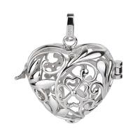 Pregnant  women  Nursing  Jewelry  925  Sterling  Silver  Pendant  Mexican  Bola Harmony  Ball CYLZ0025