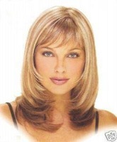 NEW Beautiful Stunning Medium Blonde mix wig