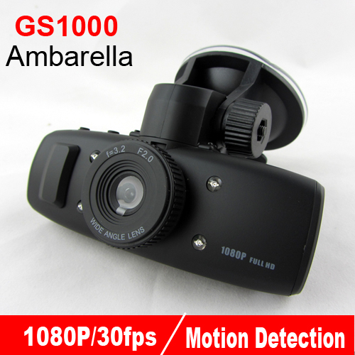In Stock Video Recorder GS1000 1.5' LTPS TFT LCD 1080P Full HD High Quality Resolution Build in GPS Dash Cam Car Video Recorder(China (Mainland))