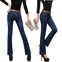 The new autumn and winter 2013 , Ms. Slim was thin denim trousers free shipping