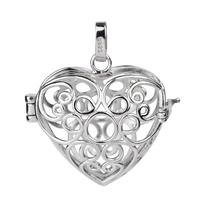 Pregnant  women  Nursing  Jewelry  925  Sterling  Silver  Pendant  Mexican  Bola Harmony  Ball CYLZ0022