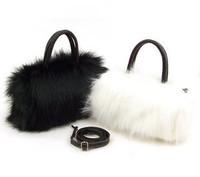 Hot Sale New Arrival 25*15*10cm Winter Fashion Women Handbag Shoulder Bag Fur Mini Messenger Bag