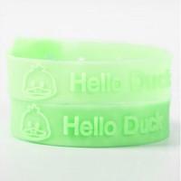 mix color 100pcs/lot Helloduck duck mosquito repellent hand ring silica ,gel Mosquito Repellent
