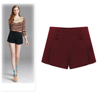 2013 women's fashion shorts plus size high waist slim shorts boot cut jeans basic harem pants