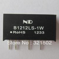 10pcs B1212LS-1W DC DC Converter Power Supply Modules single 12V to 12V Free shipping