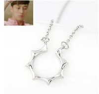 (Min order $10 mix)Korean dramas signore sun lovers necklace+ Free shipping