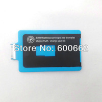 MKT Slim Charge Card USB Data Sync Charging Cable for iPhone 4 iPad  USB 2.0 to DOCK cord Wallet Credit Free Shipping