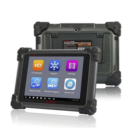 100% Original AUTEL MAXISYS MS908 Scanner WIFI / Bluetooth Wireless Universal Car Scan Tool Free internet Update+Multi-Language(China (Mainland))