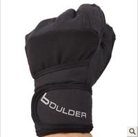 Fitness gloves male apparatus semi-finger sports gloves wrist support wear-resistant slip-resistant gloves