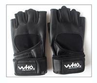 Male wrist support fitness gloves semi-finger al101 sports gloves