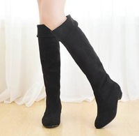 Free Shipping Spring And Autumn  Over Knee Two Ways Tow Ways Boot
