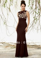 Fashion 2014 New Custom Made Applique Chiffon Mermaid Mother Of The Bridal Dress