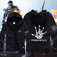 New 2013 top brand designer fashion ziper hoodies  battlefield 4 battlefield hoodies for men freeshipping