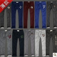 Hot! ! !Men's Spring sports and leisure straight trousers thin section
