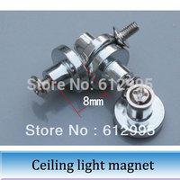 50шт светодиодные потолочные лампы магнит столбец преобразование привело света Совет поддержки магнитный винт высокий 8 мм