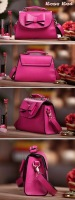 2014 New Fashion Women Messenger bags Cute Bowknot Shoulder Bag Cross Body Satchel Handbag totes 19275