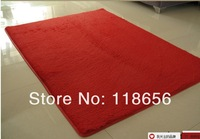 120*160cm  Red Washable super cute round rug living room bedroom bedside carpet upholstery computer mat free shipping