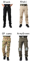 Solid Military Tactical Pants waterproof Trousers Combat Uniform with kneecap men outerdoor