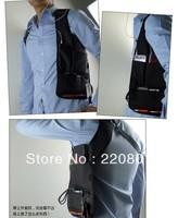 free shipping Anti-Theft Hidden Underarm Shoulder Bag Holster Black Nylon Multifunction Redalex Inspector Shoulder Bag